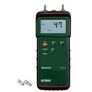 Extech 407910 Heavy Duty Differential Pressure Manometer