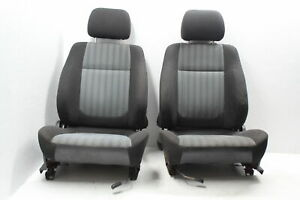 1998 2001 Subaru Impreza 2 5 Rs Gc8 Front Seats Pair Cloth Lh rh Oem