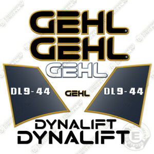 Gehl Dl9 44 Decal Kit Telescopic Forklift Decals Dl944 Stickers 7 Year Vinyl