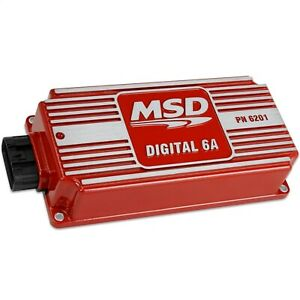 Msd Ignition 6201 Digital 6a Ignition Controller