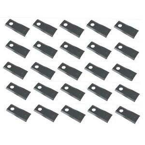 Set 25 Disc Mower Blades 76n946 853819 Fits Ford new Holland Mowers conditioners