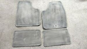 2006 2016 Chevy Impala Front Rear Replacement Oem Floor Mats Gray Gm Chevrolet