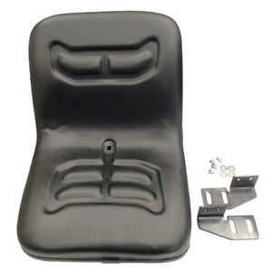 Universal Compact Tractor Seat With Brackets For Kubota Ford Satoh Iseki