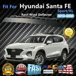 Fits Hyundai Santa Fe S xl 43 Roof Rack Crossbar Wind Fairing Air Deflector Kit