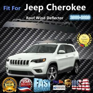 Fits Jeep Cherokee 43 Roof Rack Crossbar Wind Fairing Air Deflector Kit