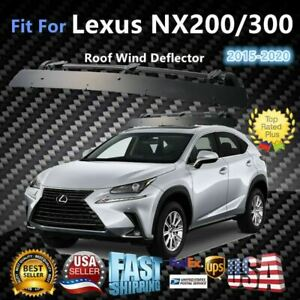 Fits Lexus Nx200 300 43 Roof Rack Crossbar Wind Fairing Air Deflector Kit