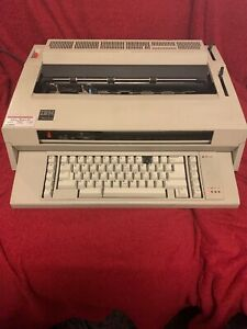 Ibm Wheelwriter 3 Typewriter With Ribbon Tested Working