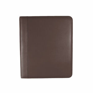 Andrew Philips Florentine Napa Leather 1 3 ring Binder In Brown