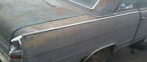1966 Amc Ambassador Upper Quarter Panel Trim Moulding
