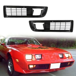 For 1979 1981 Firebird Grille Grill Trans Am New Set W Fitting Pair