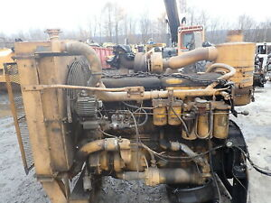 International Dt817 Turbo Diesel Engine Power Unit Low Hours Ih 817