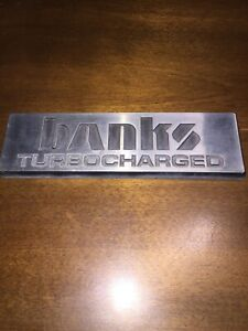 Banks Turbo Charged Emblem