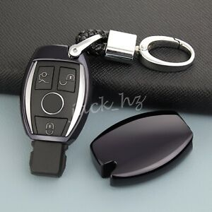 Car Key Chain Case Fob For Mercedes Benz A B C E S Gla Glc Gle Glk Class Black