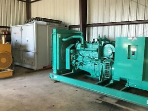 Natural Gas Generator 280kw Cummins