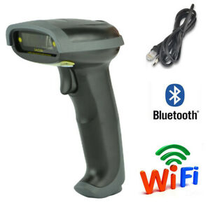 Usb Bluetooth Wireless Barcode Scanner Automatic Laser Bar Code Scanner Reader