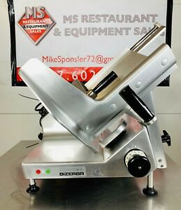 Bizerba Se12 Heavy Duty Manual Commercial Meat Deli Cheese Slicer New13 Blade