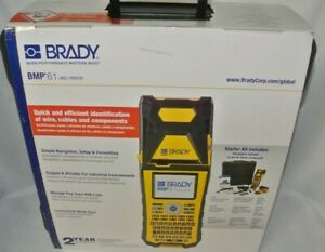 Brady Bmp61 Portable Label Printer bmp61 usb