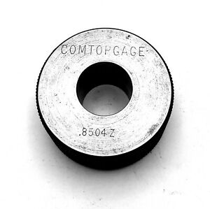 Comtorgage 8504 Cl z Smooth Bore Ring Gage Inspection Tool