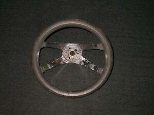 Vintage Superior Performance Products The 500 Steering Wheel 12 Black Chrome