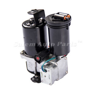 Air Suspension Compressor Pump For 1995 2002 Lincoln Continental With Dryer