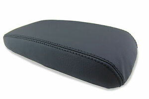 Fits 12 15 Honda Civic Synthetic Leather Center Console Armrest Cover Black