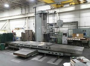 Giddings Lewis 70 h6 t Cnc Horizontal Boring Mill 6 Spindle 60 X 144 Tab