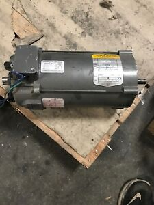 Baldor Reliance Cdp3445 1hp Dc Electric Motor 90vdc 1750rpm 56c Frame