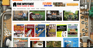Home Improvement Guides Affiliate Product Website automated premium Designed