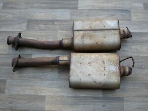 94 98 Mustang Gt 4 6 Flow Masters Exhaust 3 Chamber 2 1 4 1995 Gt
