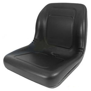 Ford New Holland Black Skid Steer Seat Fits Ls120 Ls125 Ls140 Ls150 Ls160 Etc