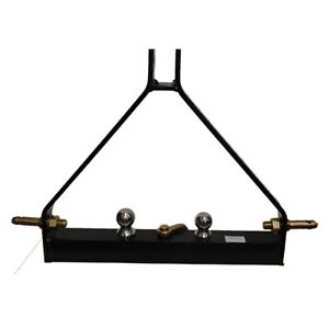 3 Point Bx Trailer Hitch Compact Tractor Universal Fits Kubota Structural Steel