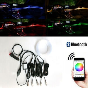 Apps Control Rgb Led Dash Board Door Atmosphere Lights With 6m Neon Strip Lights