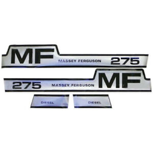 S 42852 Decal Kit fits Massey Ferguson 275 Hood