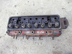 Massey Ferguson To35 Mf Tractor Gas Engine Motor Cylinder Head Valves