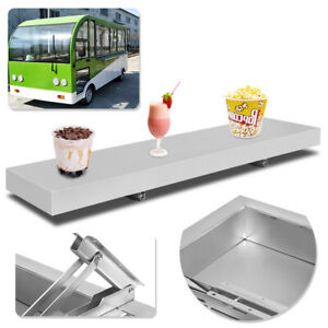 4 Feet Shelf For Concession Window Tabletop Foldable Food Truck Accessories