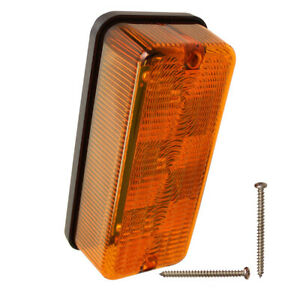 Ai 87703630 Lamp Amber Led Flasher tail Light Fits Case ih Combine