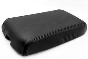 Fits 82 92 Chevrolet Camaro Synthetic Leather Center Console Armrest Cover Black