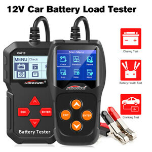 12v Car Battery Load Tester 100 To 2000cca Auto Battery Tool Konnwei Kw210 Kw600