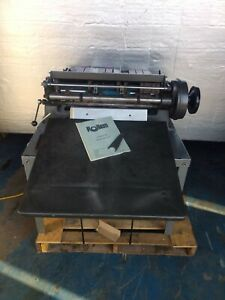 Rollem Champion 990 Slitting Scoring Perforating Machine