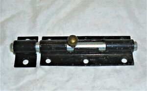 Vintage Barrel Bolt Slide Bolt Door Lock Windows Doors Cellar Gates Cabinets 5