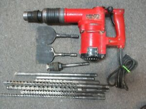 Hilti Te 72 Rotary Hammer Drill With Bits Case
