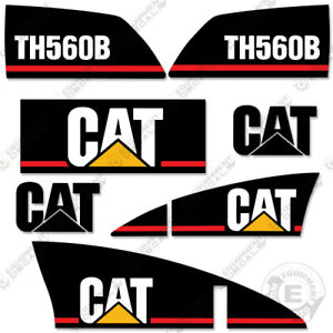 Caterpillar Th560b Telescopic Forklift Decal Kit older Style Th 560 B