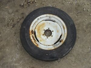 American Farmer Lknw 6 00 X 16 Tire Tractor Wagon Implement Front Steel Rim