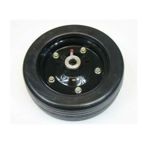 New Replacement Solid Finish Mower Wheel 10 X 3 25 Part 87750 For Bush Hog