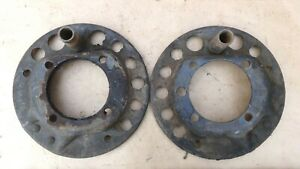 1928 1931 Model A Ford Rear E Brake Carriers Original Pair Coupe Sedan Pickup