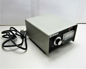 Nikon 76576 12v A c Illuminator Power Supply