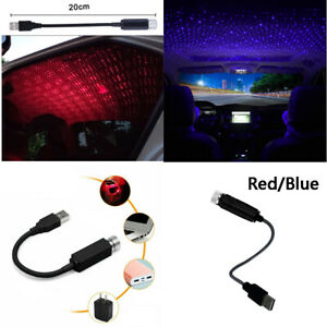Car Home Ceiling Projector Star Light Usb Night Romantic Atmosphere Light