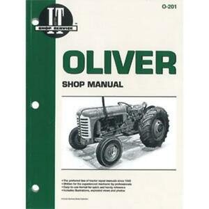 Shop Manual For Oliver 66 77 88 660 770 880 950 990 More O 201 Pm
