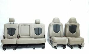 Full Set Regency Leather Seats With Wear Ford F250 F350 2008 2010 Oem