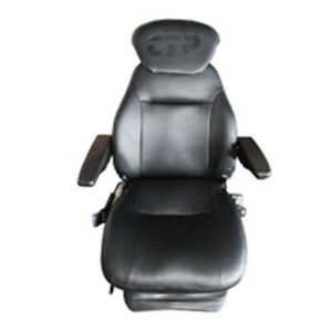 Ctp906h Seat Assembly W Armrest Headrest For Several Fits Caterpillar Fits Cat